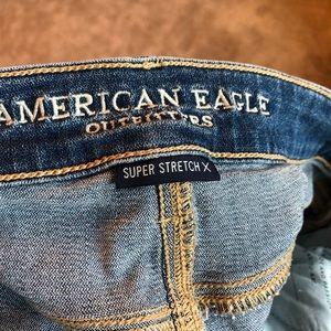 American Eagle Light Wash Jeggings